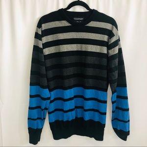 Men's empyre heavy knit crew neck sweater size XL